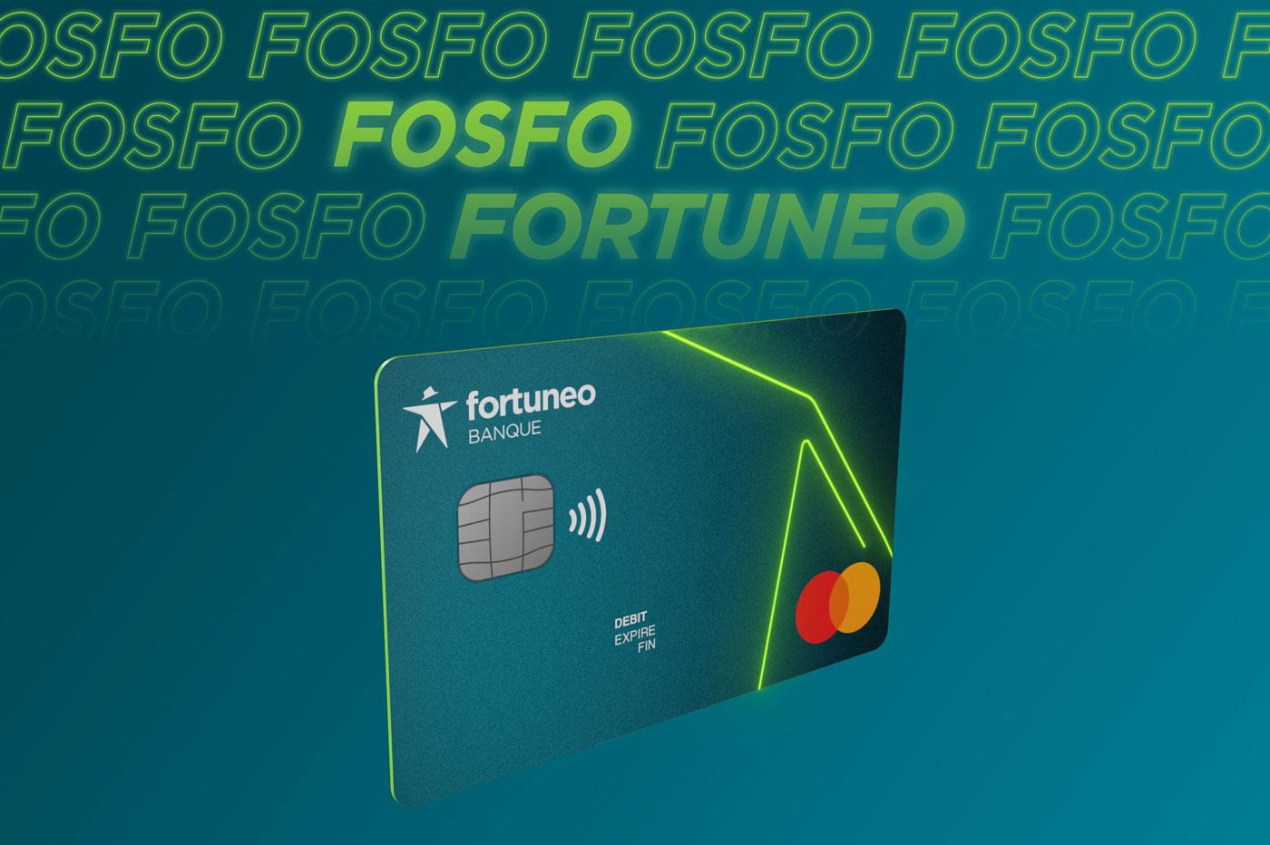 Fortuneo officialise Fosfo, une carte internationale sans aucun frais