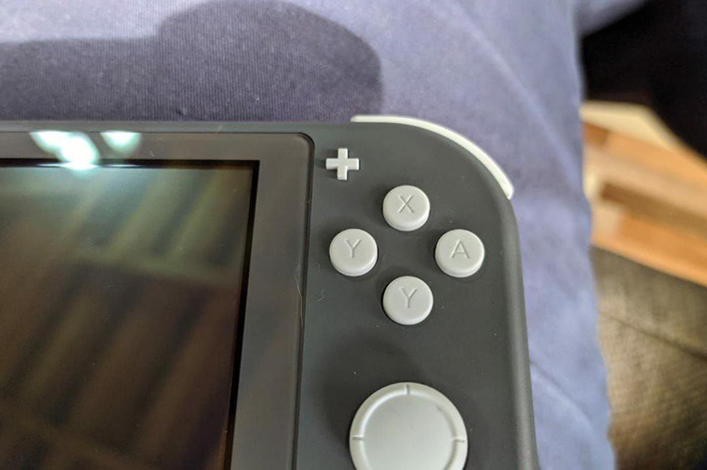 Nintendo Switch Lite: le bouton B a-t-il été «oublié» sur certains modèles…?