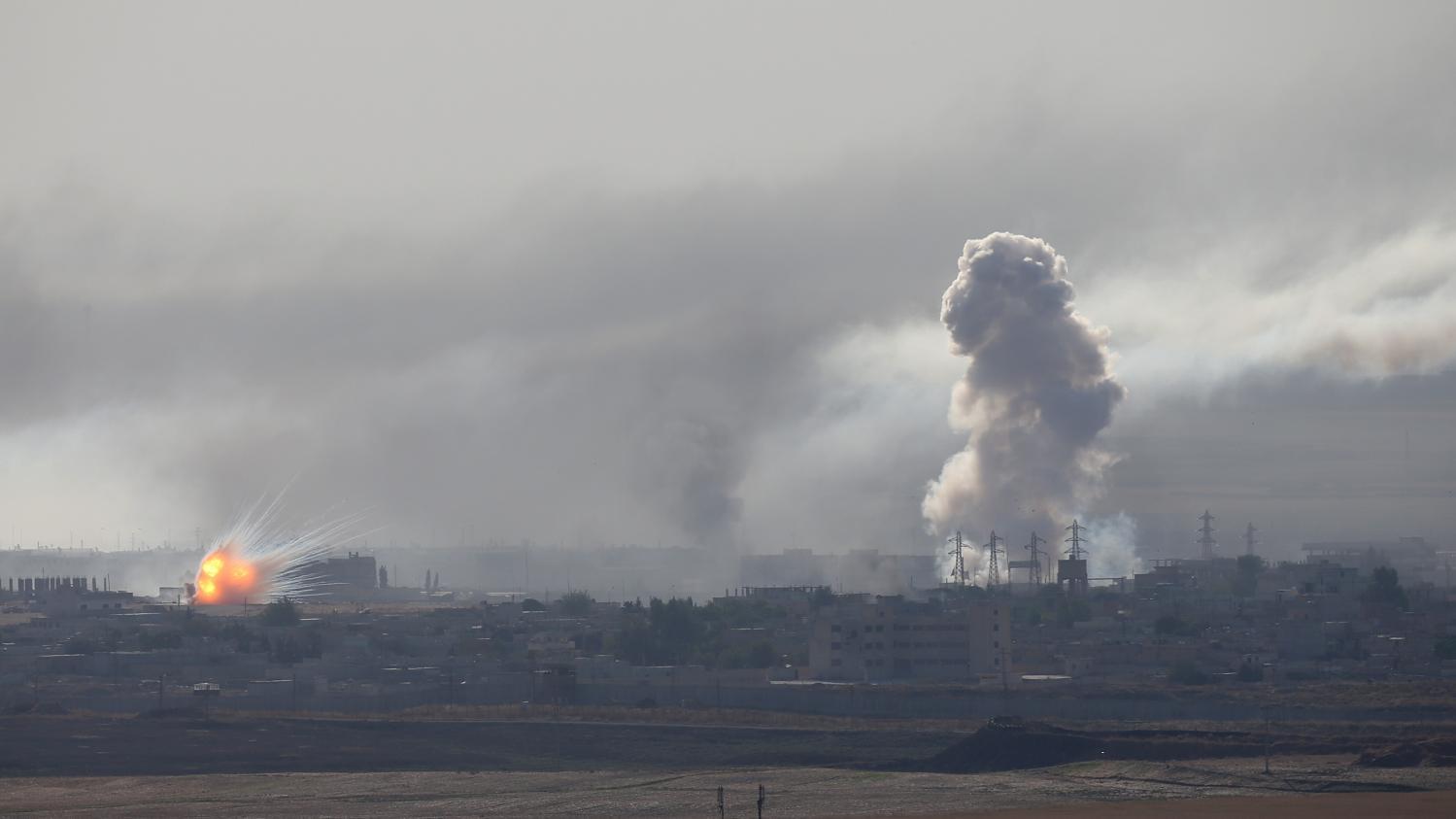Offensive turque en Syrie : des troupes américaines prises sous le feu de l'artillerie turque, affirme le P… – franceinfo