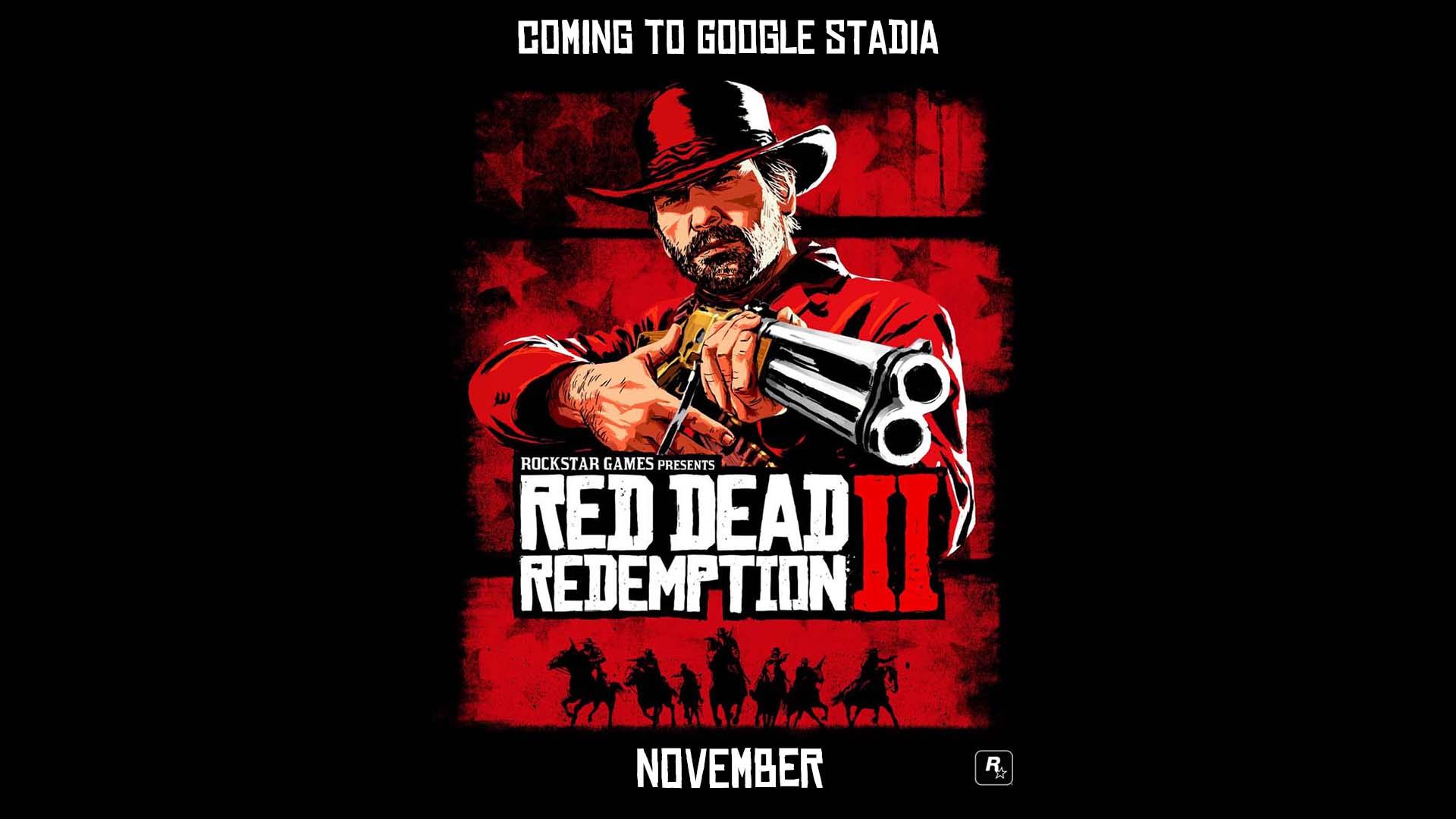 Red Dead Redemption II, le jeu de l'année 2018 arrive sur PC et Google Stadia!