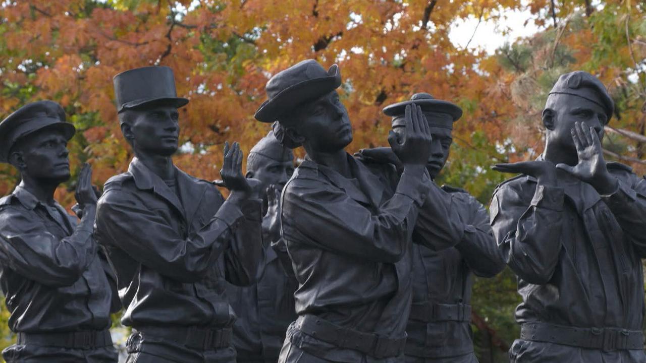 11-Novembre : un monument en mémoire des militaires morts en opérations extérieures | LCI – LCI