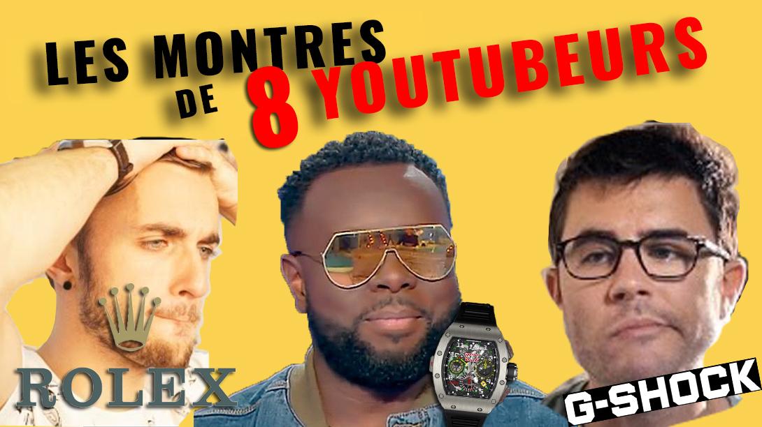 Maitre Gims, Pewdiepie, Squeezie, BigFlo et Oli les montres de luxes sur Youtube !