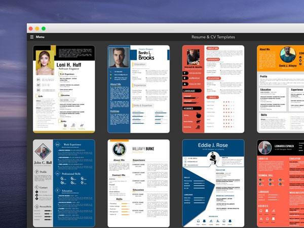 ipro mac  u2013 100 mod u00e8les de cv 2020 pages    ms word  gratuit